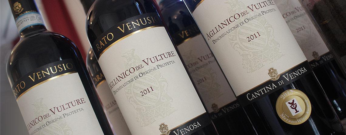 Oro per il Carato Venusio al Merano Wine Festival.